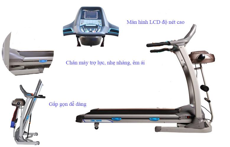 máy chạy bộ điện đa năng MHT- 1916SA