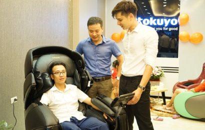 Ngỡ ngàng bởi tính năng độc đáo của ghế massage Tokuyo